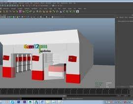 Nro 14 kilpailuun 3D render for small stationery store layout käyttäjältä aryashinde359