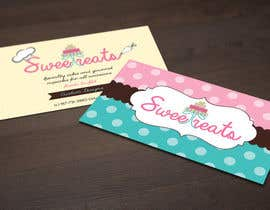nº 20 pour Design some Business Cards for Sweet treats by ortal par DanaDouqa