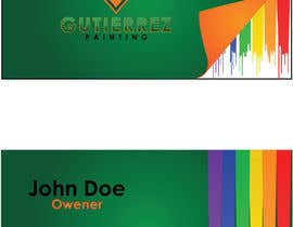 #40 for Design some Business Cards for Painting Company by DanaPopa