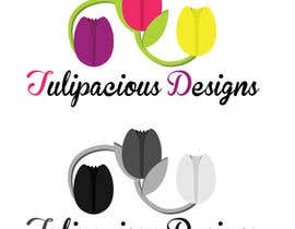 #12 for Design a Logo for Tulipacious Designs af dhalainebautista