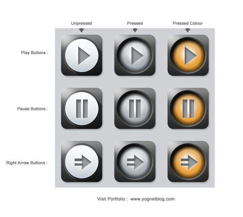 #27 for 3D Icon Set for an application by YogNel