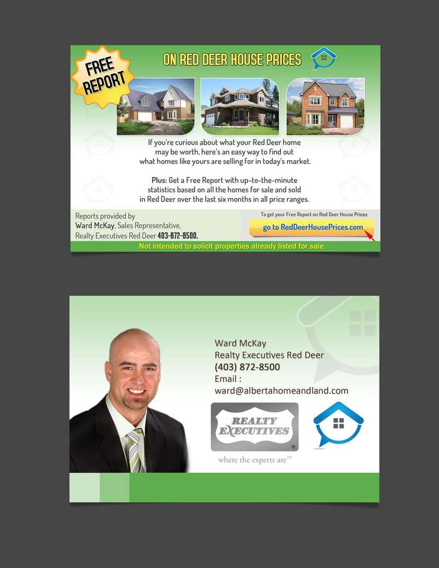 Proposition n°58 du concours Design a Real Estate postcard