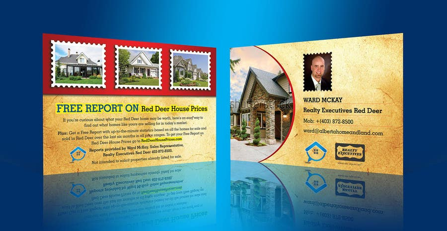 Proposition n°44 du concours Design a Real Estate postcard