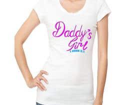 hamxu tarafından Design a T-Shirt - Daddy's Girl için no 43