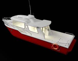 #13 for Sports Fishing Boat Design by creartarif