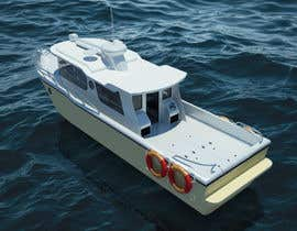 #25 for Sports Fishing Boat Design by creartarif