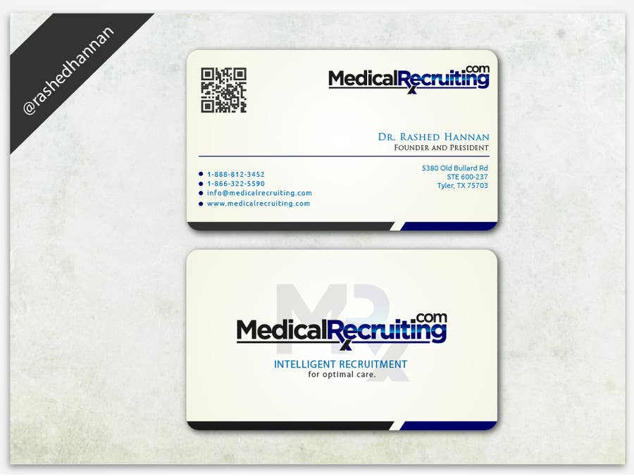 Design some high end Business Cards for Recruiting pany