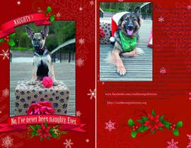 #14 untuk Design a 5x7 Christmas Card for Southeast German Shepherd Rescue oleh polomanolo