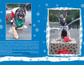 #11 untuk Design a 5x7 Christmas Card for Southeast German Shepherd Rescue oleh primavaradin07