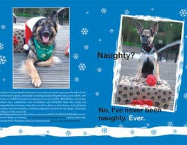 #12 untuk Design a 5x7 Christmas Card for Southeast German Shepherd Rescue oleh primavaradin07