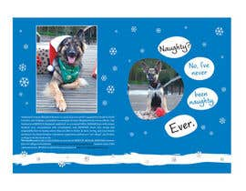 #17 untuk Design a 5x7 Christmas Card for Southeast German Shepherd Rescue oleh primavaradin07