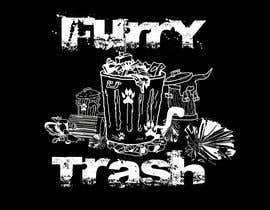 projectonline95 tarafından Design a T-Shirt called Furry Trash için no 22