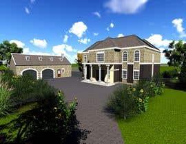 Nro 36 kilpailuun Design of double storey house in Ireland käyttäjältä archmamun