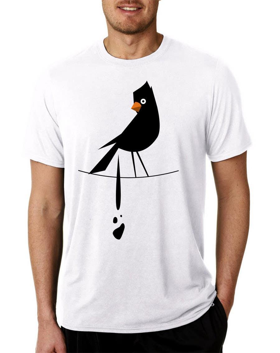 Penyertaan Peraduan #                                        19                                      untuk                                         Design a bird t-shirt