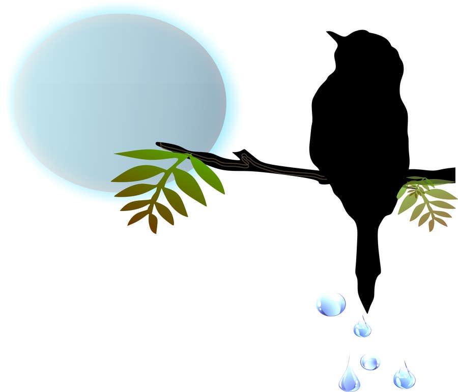 Penyertaan Peraduan #                                        5                                      untuk                                         Design a bird t-shirt
