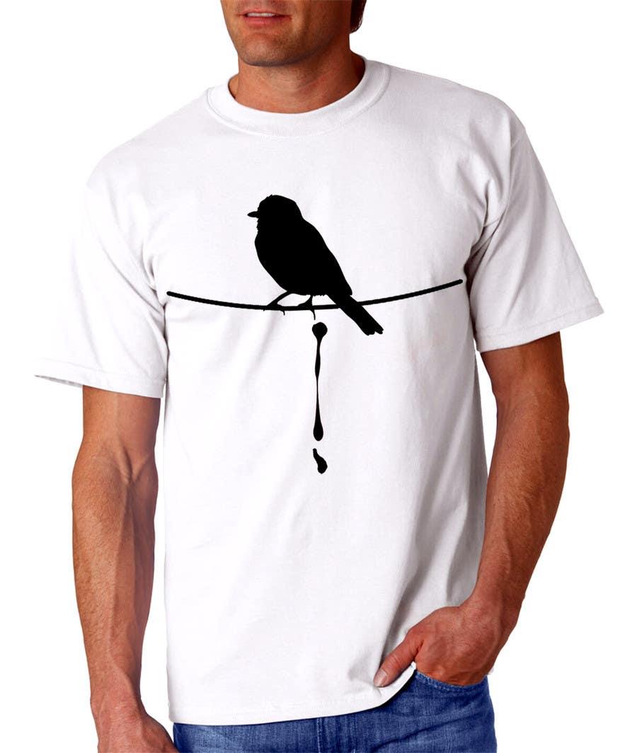 Penyertaan Peraduan #                                        45                                      untuk                                         Design a bird t-shirt
