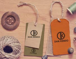 Nro 196 kilpailuun Design a Logo for clothing designer named Dan Kendo käyttäjältä scroob