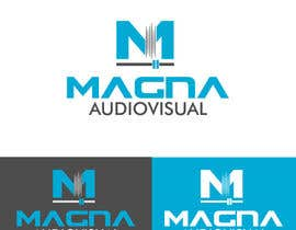 #92 para Design a Logo for MAGNA AUDIOVISUAL de EstrategiaDesign