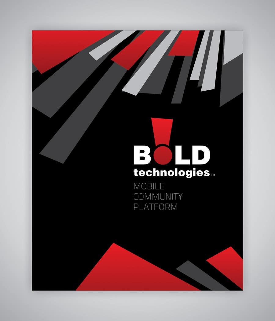 #27 for Design a Brochure for BOLD! Mobile Community Platform by sanjiban