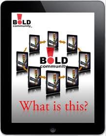 #30 for Design a Brochure for BOLD! Mobile Community Platform by Kusmin