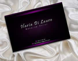 nº 230 pour Business Card Design for Ilaria Di Lauro - Make-up artist par SadunKodagoda