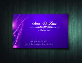 #242 para Business Card Design for Ilaria Di Lauro - Make-up artist por BuThamAds