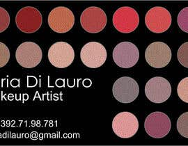 nº 172 pour Business Card Design for Ilaria Di Lauro - Make-up artist par Albertog
