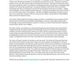 Nro 5 kilpailuun Short Professional Bio and an effective marketing letter to attract sponsors. käyttäjältä Axel1008