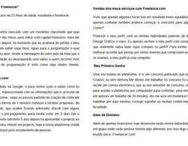 #10 para Ganhe 100USD compartilhando a sua estória em Português por caetanodaroda