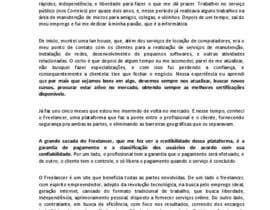 pauloalvaro tarafından Ganhe 100USD compartilhando a sua estória em Português için no 9