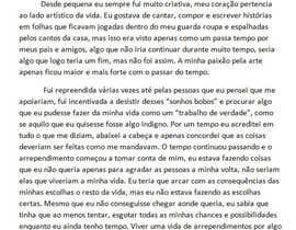 #13 para Ganhe 100USD compartilhando a sua estória em Português por MariSilva1