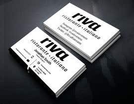 Nro 1 kilpailuun Design a restaurant business card käyttäjältä sanjoypl15