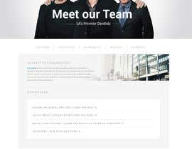 #76 for High-end Dental Homepage by ohmyfunsite