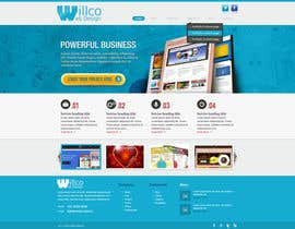 #2 for Design a Website Mockup and Logo for Willco Web Design af designBox16