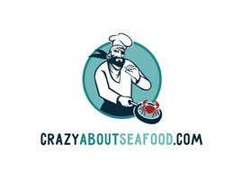 panameralab tarafından logo for my   CrazyAboutSeafood.com için no 48