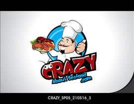 colorgraphicz tarafından logo for my   CrazyAboutSeafood.com için no 34