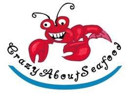 Nro 13 kilpailuun logo for my   CrazyAboutSeafood.com käyttäjältä flashmakeit