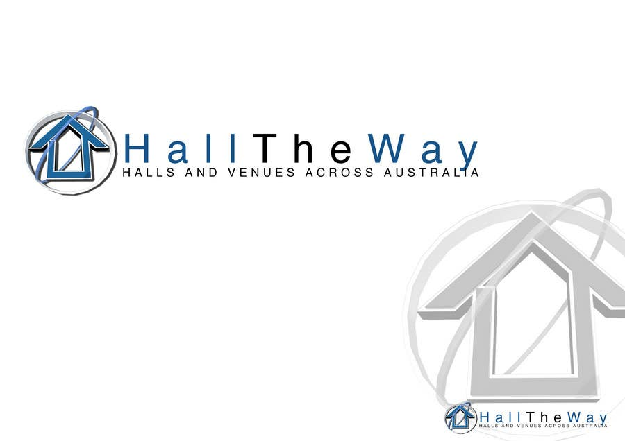 Proposition n°                                        467                                      du concours                                         Logo Design for Hall The Way