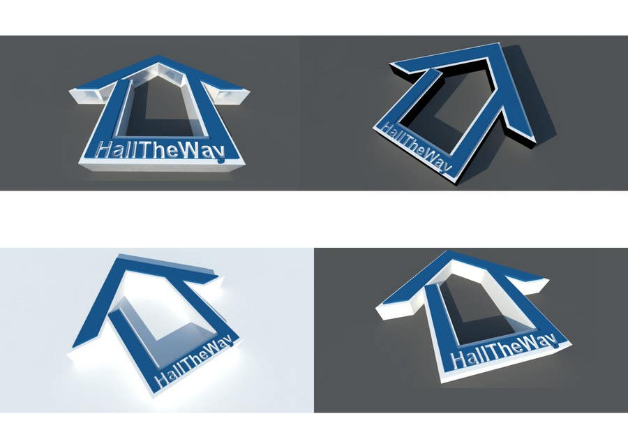 Proposition n°                                        422                                      du concours                                         Logo Design for Hall The Way