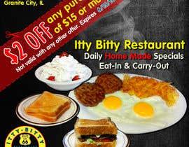 trungbep tarafından Design an Advertisement for Small Restaurant için no 10