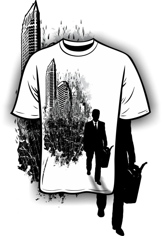 Kilpailutyö #5 kilpailussa Design a T-Shirt