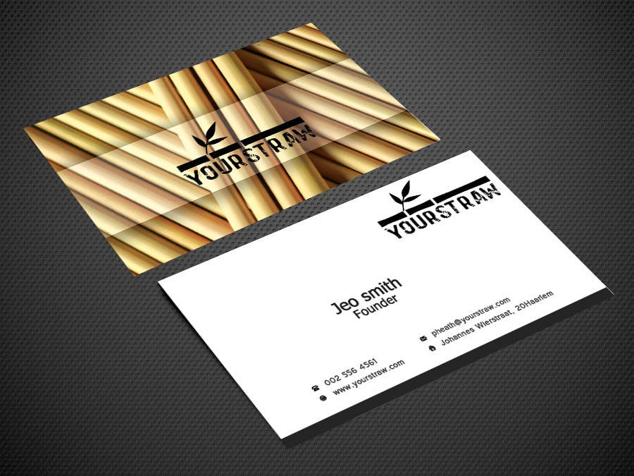 Entry #13 by Warna86 for business card, swing tag and bio/blurb ...