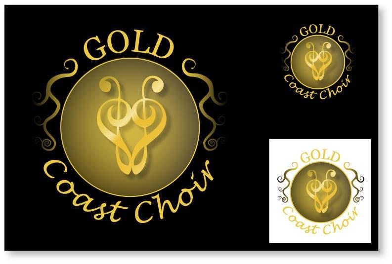 Kilpailutyö #311 kilpailussa Logo Design for Gold Coast Choir