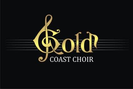 Kilpailutyö #259 kilpailussa Logo Design for Gold Coast Choir
