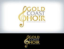 #190 untuk Logo Design for Gold Coast Choir oleh Clarify