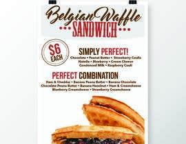 jasminmaurice tarafından Waffle Poster Design için no 9