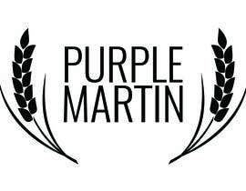 "pauloaug tarafından Design a logo for a leather brand ""Purple Martin"" için no 50"