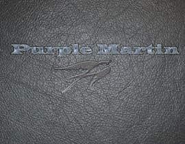 "Ivanisov tarafından Design a logo for a leather brand ""Purple Martin"" için no 54"