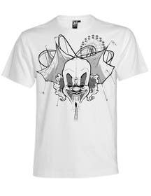#12 for Design a t-shirt with a clown illustration - cartoon by fcontreras86
