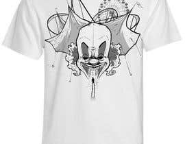 #12 cho Design a t-shirt with a clown illustration - cartoon bởi fcontreras86
